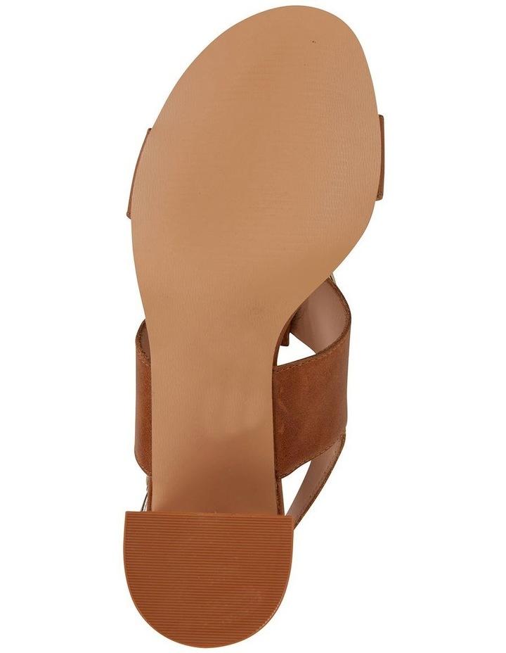 Obsess Tan Glove Sandal image 6