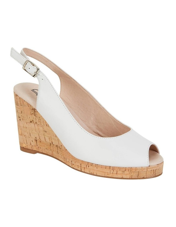 Davina White Glove Sandal image 2