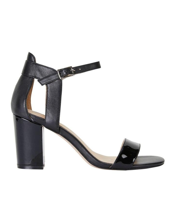 Nexus Black Patent/Glove Sandal image 1