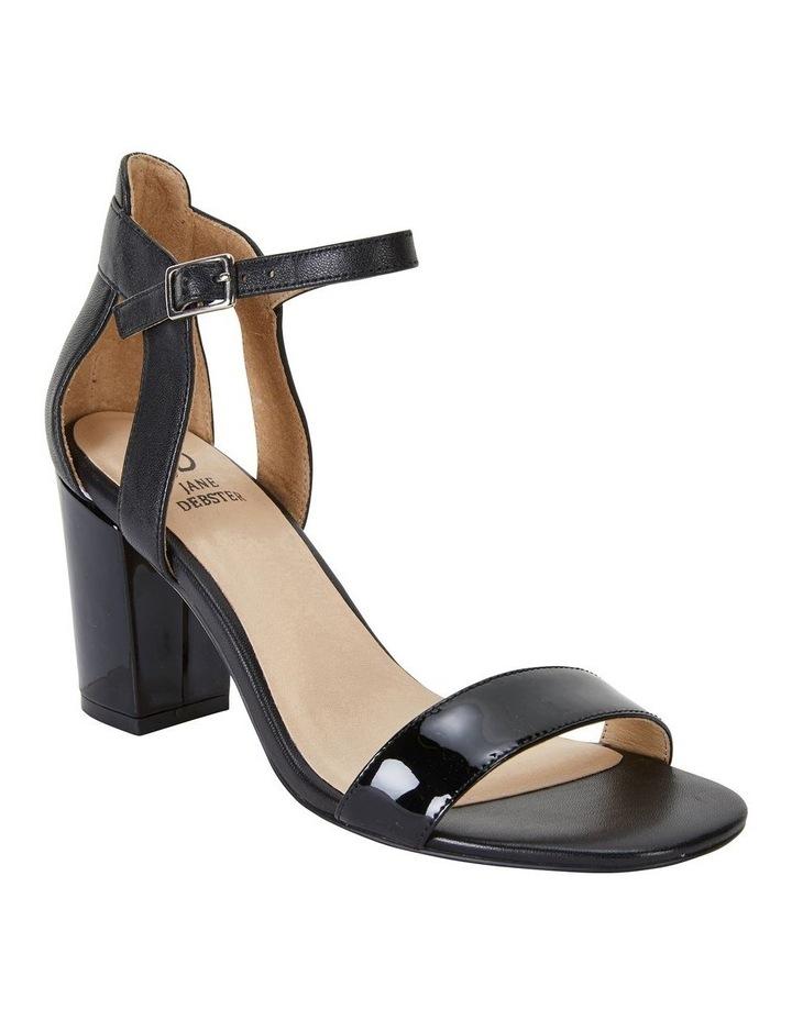 Nexus Black Patent/Glove Sandal image 2