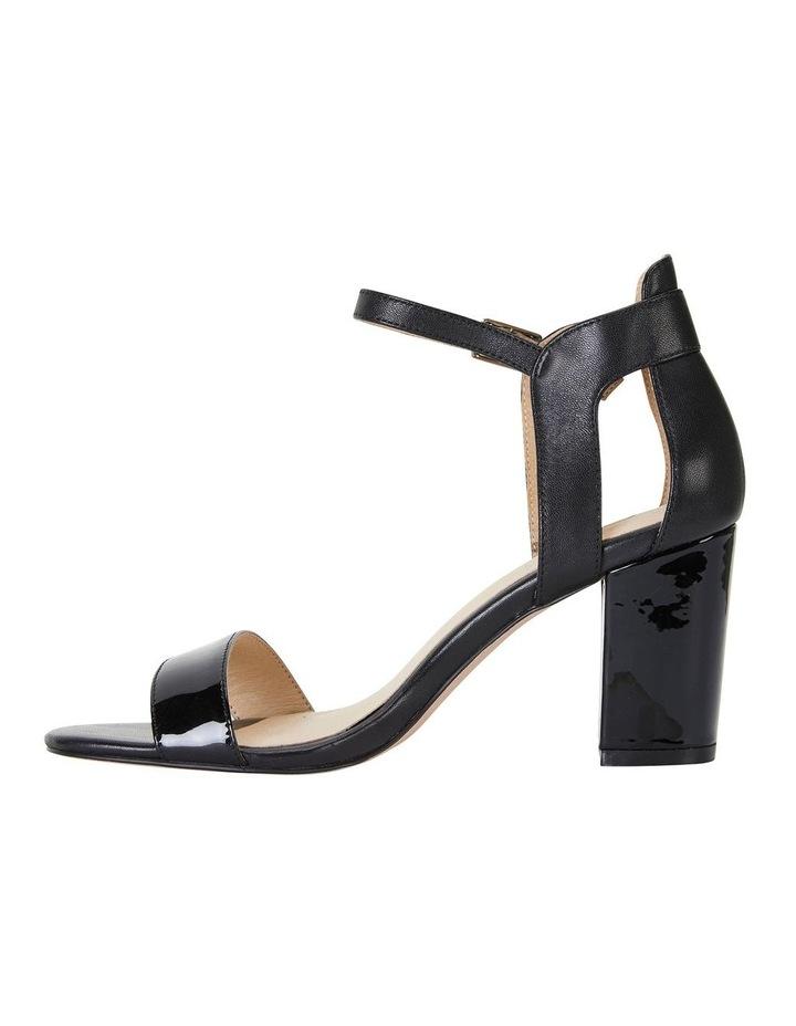 Nexus Black Patent/Glove Sandal image 3