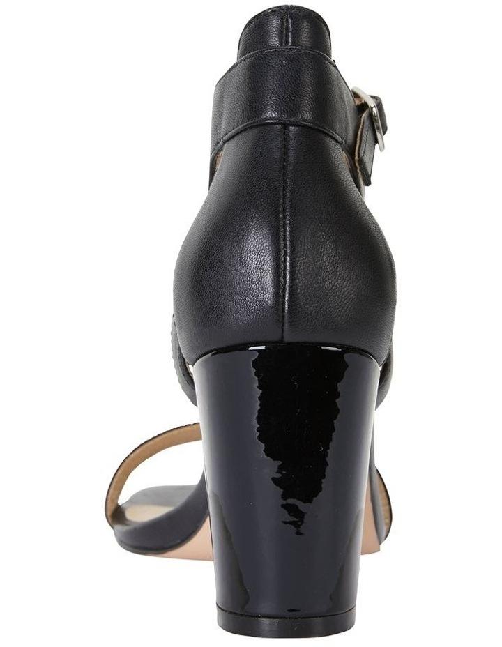Nexus Black Patent/Glove Sandal image 7
