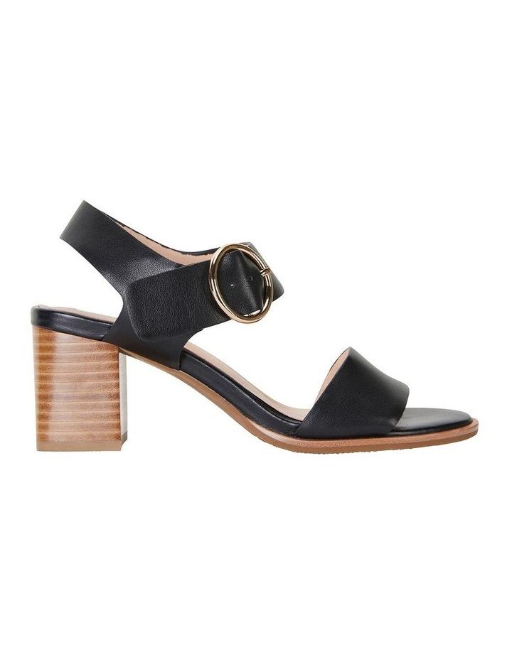 Nickel Black Calf Sandal image 1