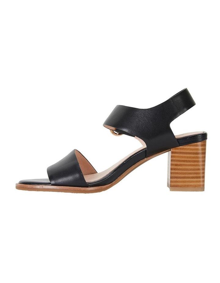Nickel Black Calf Sandal image 3