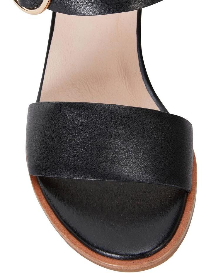 Nickel Black Calf Sandal image 5