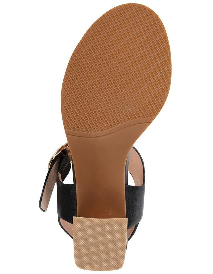 Nickel Black Calf Sandal image 6