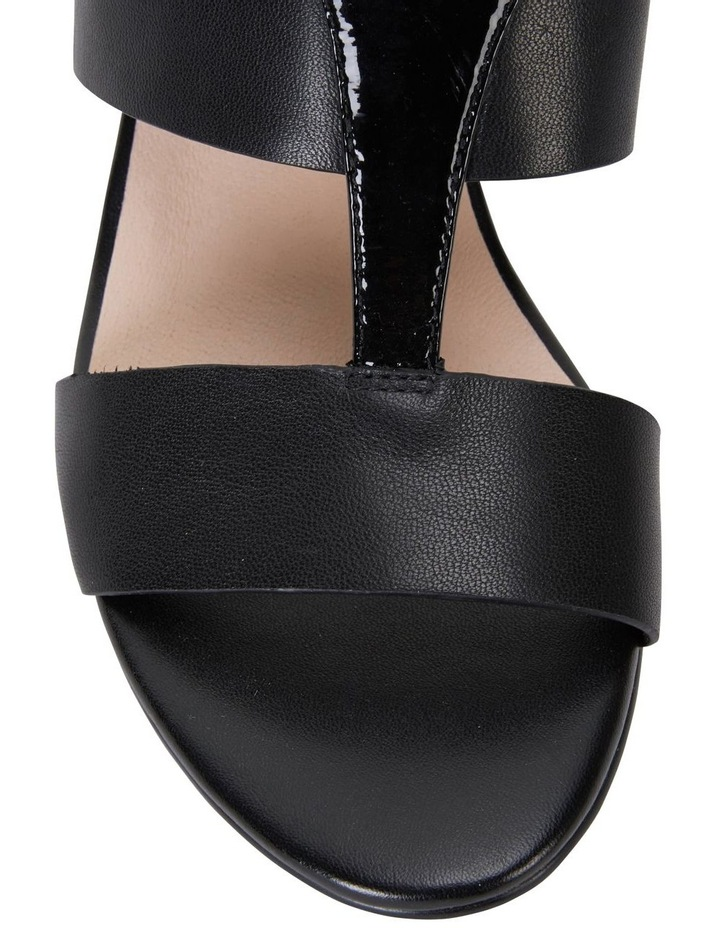 Nitro Black Glove/ Patent Sandal image 5