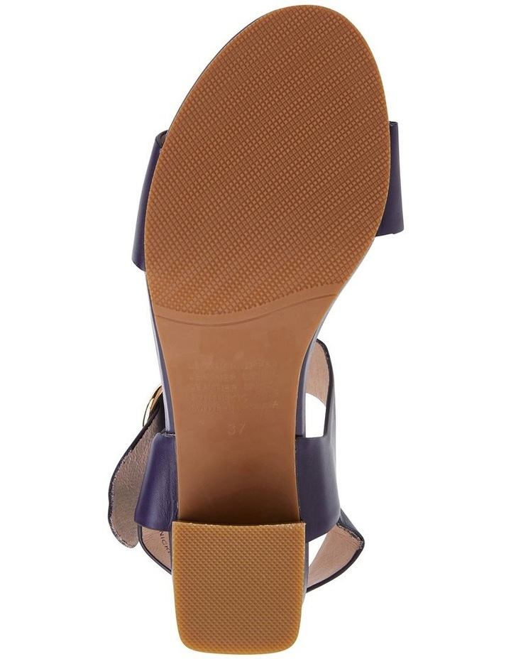 Nickel Navy Glove Sandal image 7