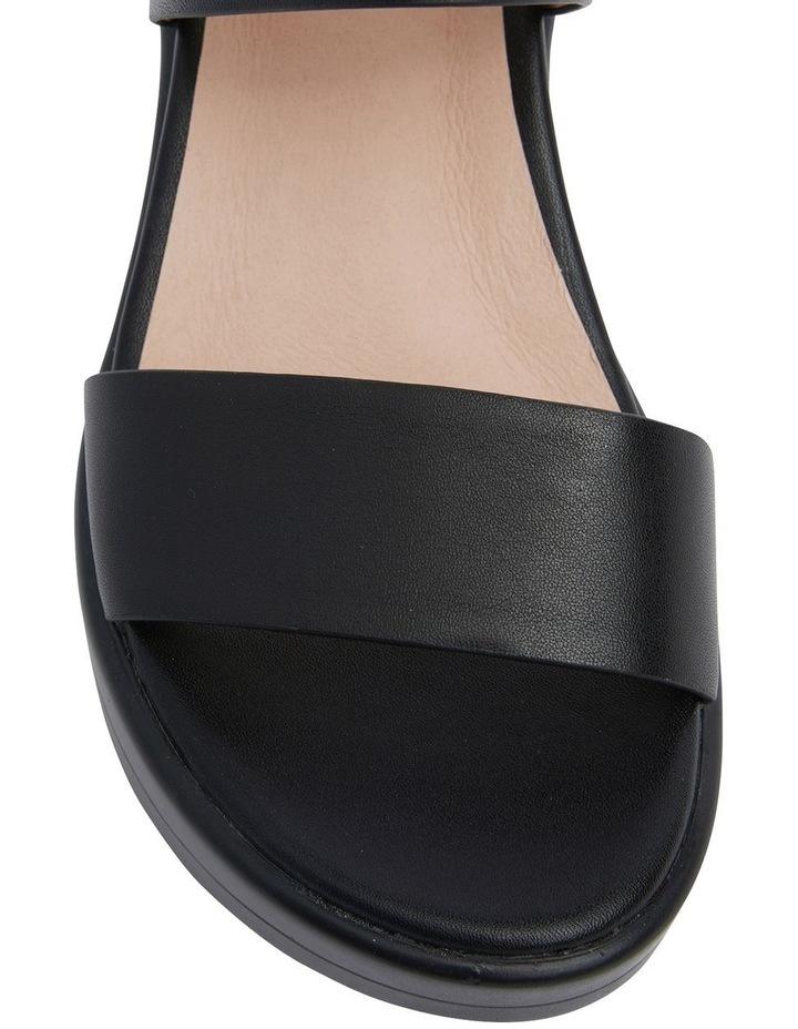 Indiana Black Glove Wedge Sandal image 6