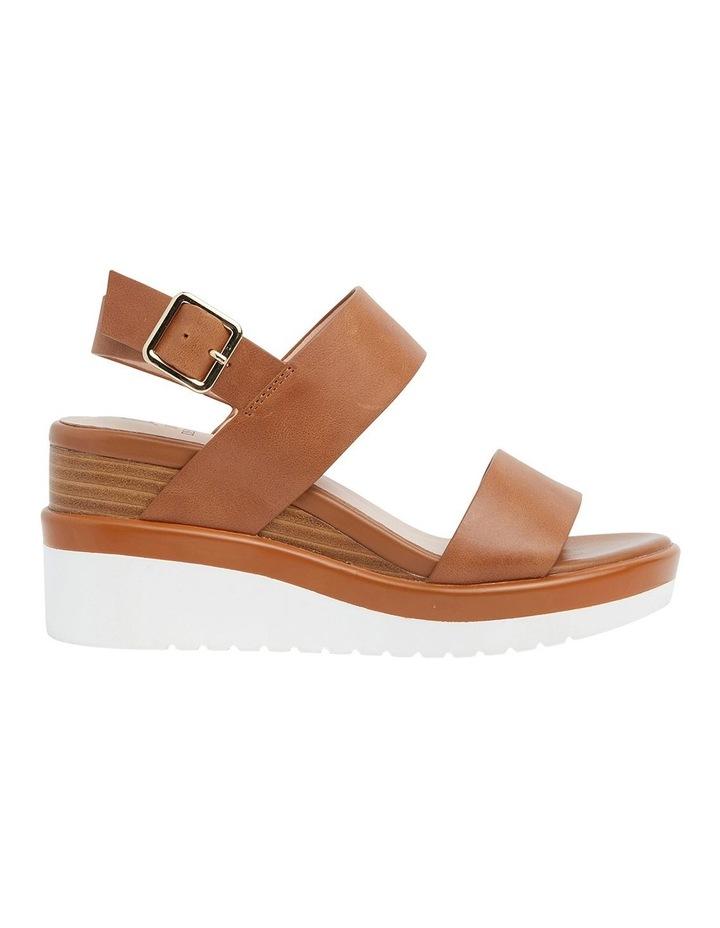 Indiana Tan Glove Wedge Sandal image 1
