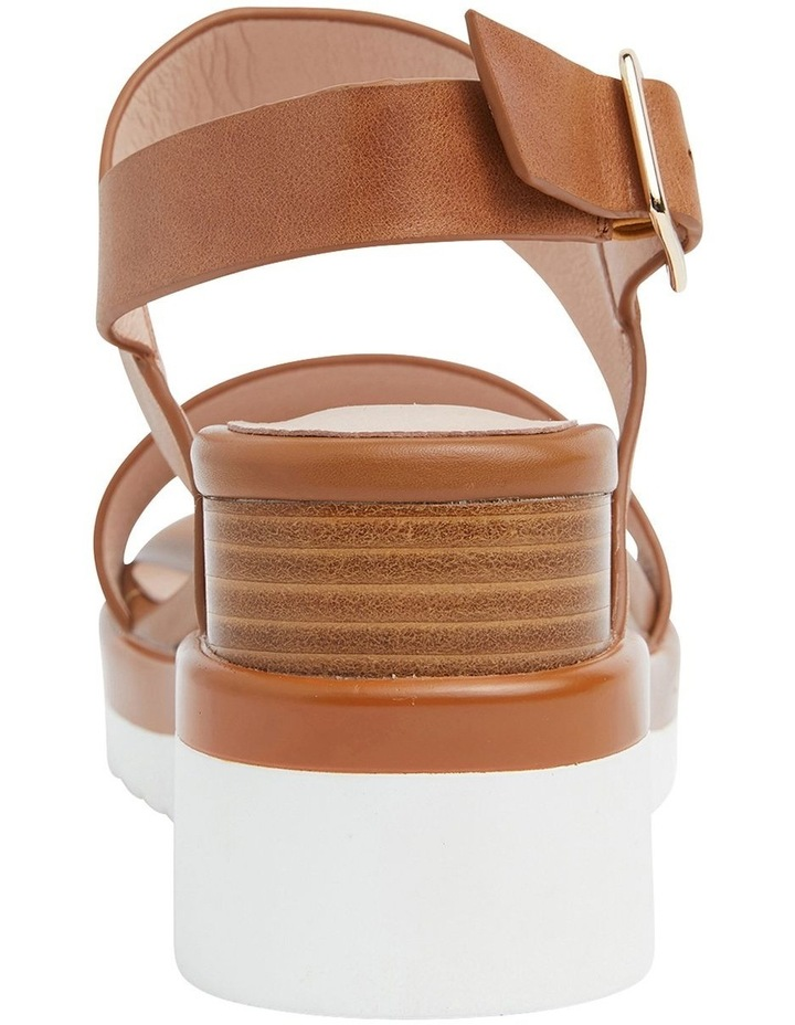 Indiana Tan Glove Wedge Sandal image 5