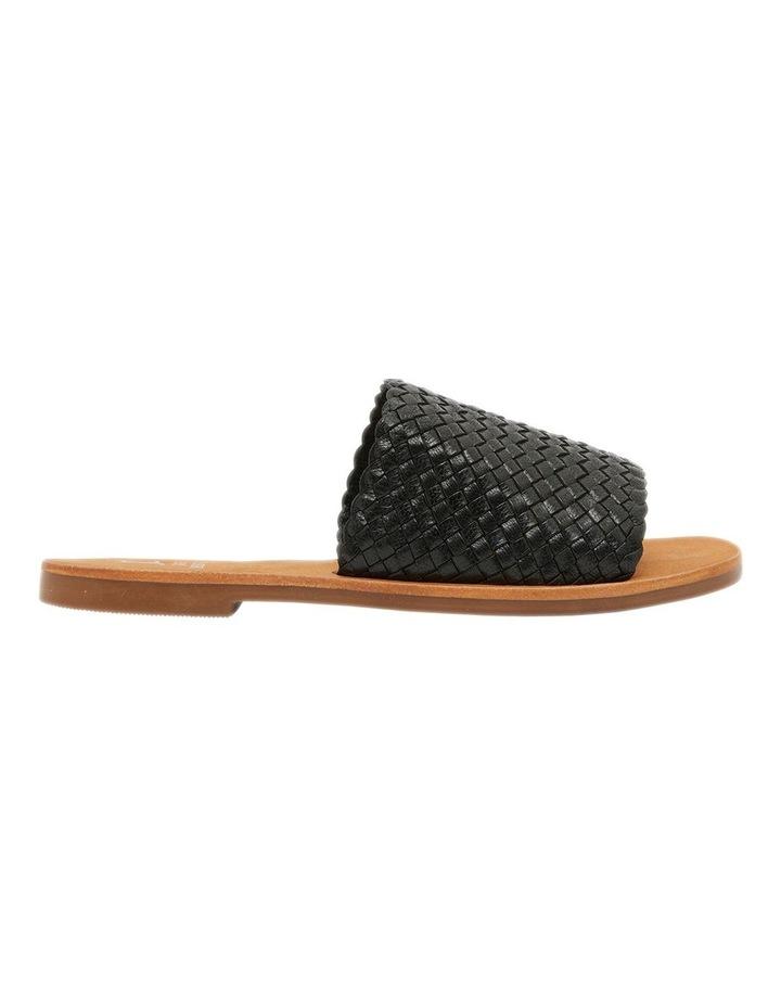 Tatum Black Weave Sandal image 1