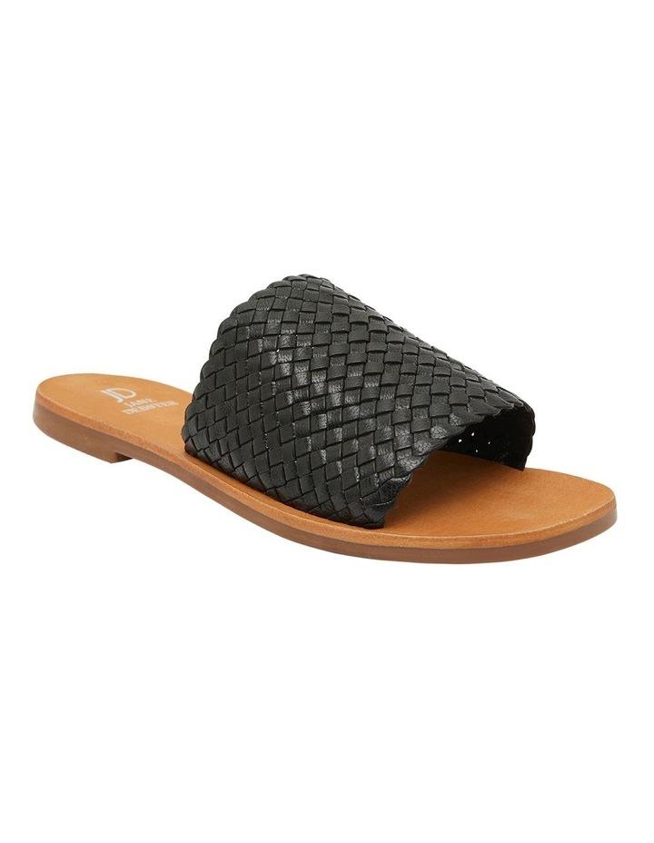 Tatum Black Weave Sandal image 2