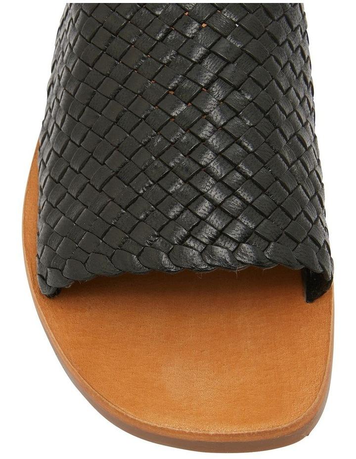 Tatum Black Weave Sandal image 6