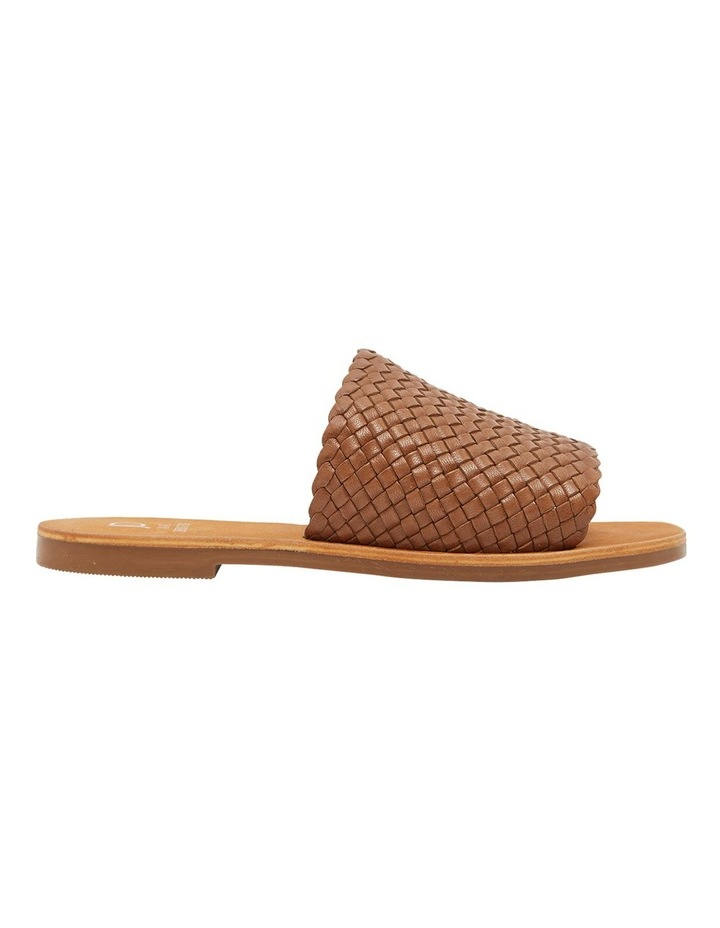 Tatum Cognac Weave Sandal image 1