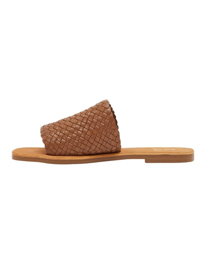 Tatum Cognac Weave Sandal image 3