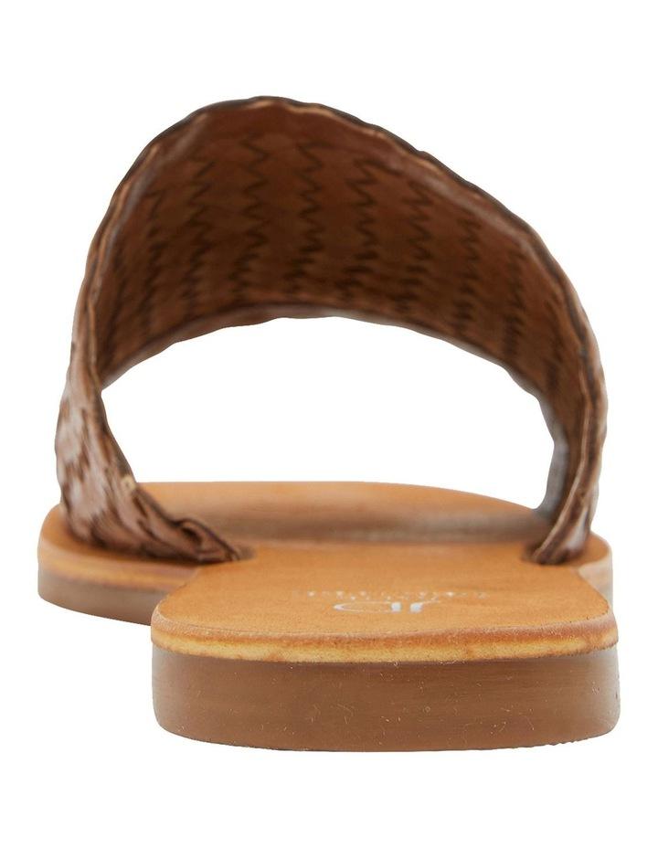 Tatum Cognac Weave Sandal image 5
