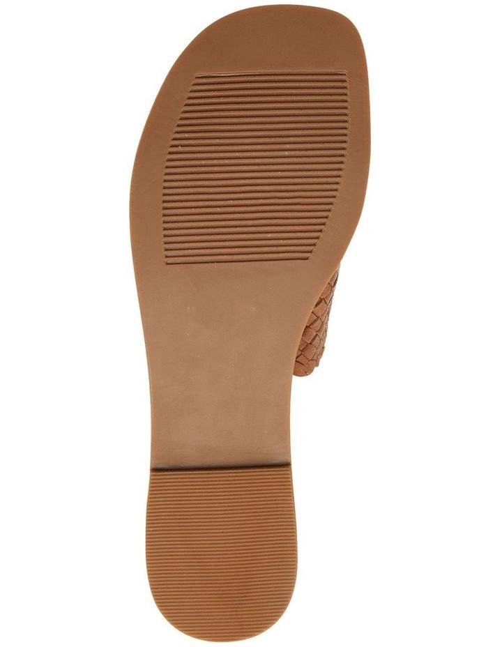 Tatum Cognac Weave Sandal image 6