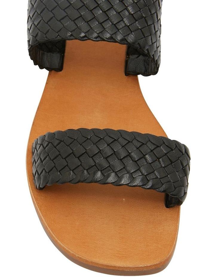 Tora Black Weave Sandal image 6