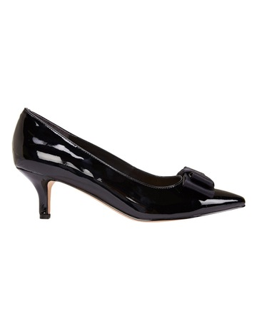 0488ca915db Jane Debster Zara Black Patent Pump