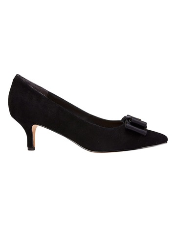dab82ca7feff Jane Debster Zara Black Suede Pump