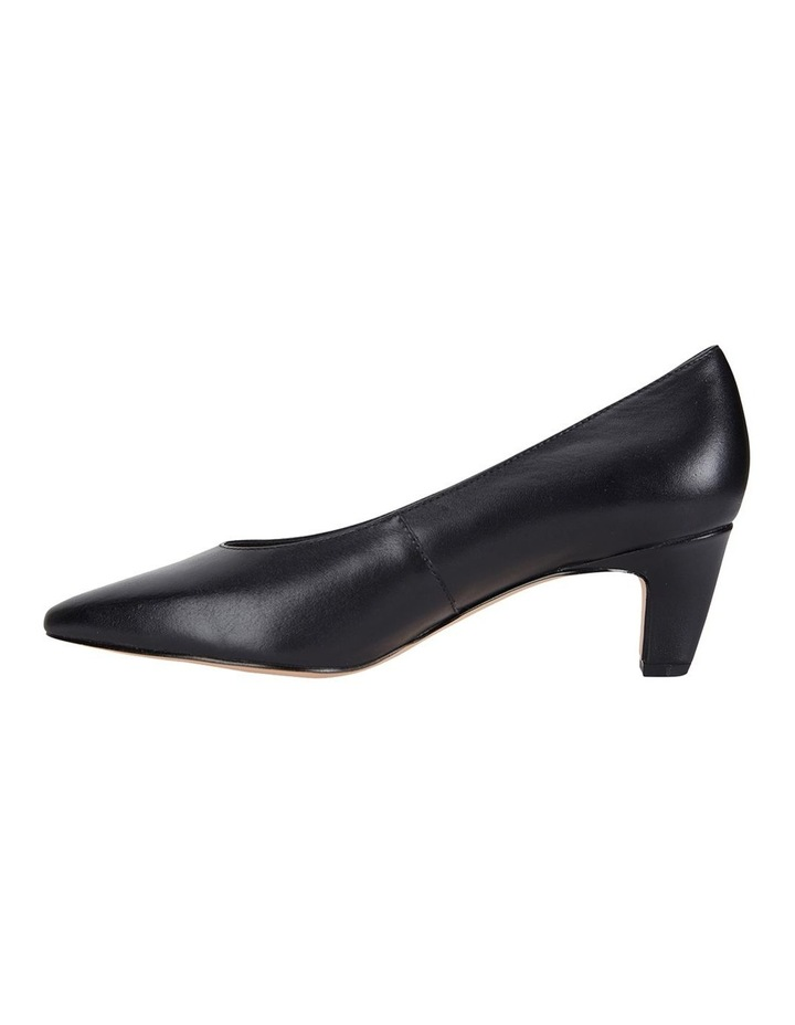 Jane Debster Seduce Black Glove Heeled Shoe image 3