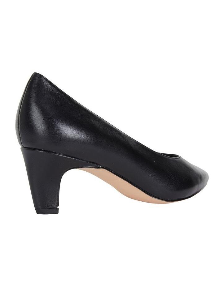 Jane Debster Seduce Black Glove Heeled Shoe image 4