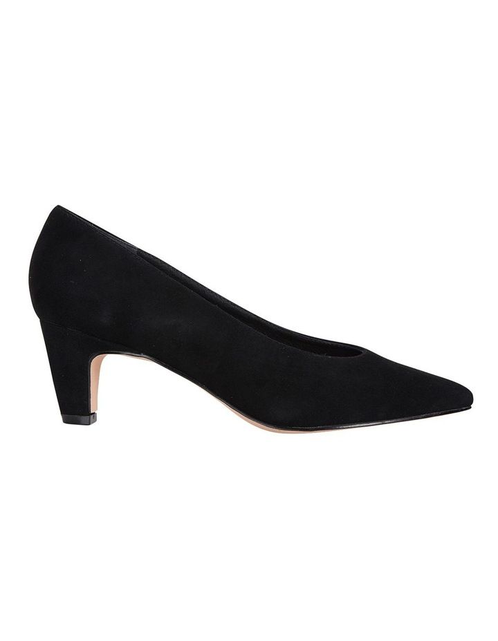 Jane Debster Seduce Black Suede Heeled Shoe image 1
