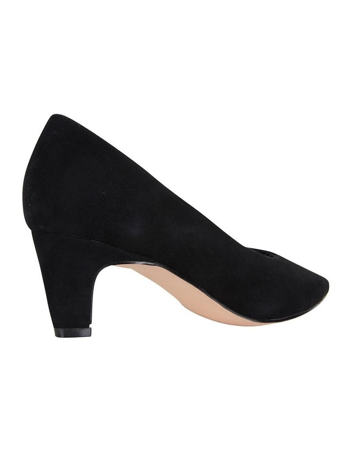 Jane Debster Seduce Black Suede Heeled Shoe image 4