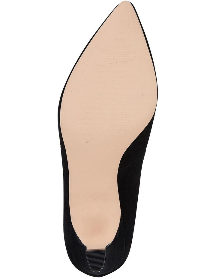 Jane Debster Seduce Black Suede Heeled Shoe image 6