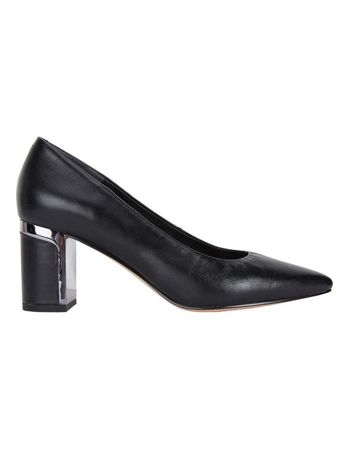Jane Debster Bonnie Black Glove Heeled Shoe image 1