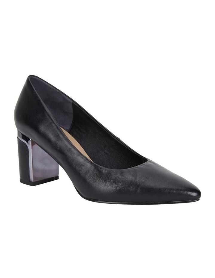 Jane Debster Bonnie Black Glove Heeled Shoe image 2