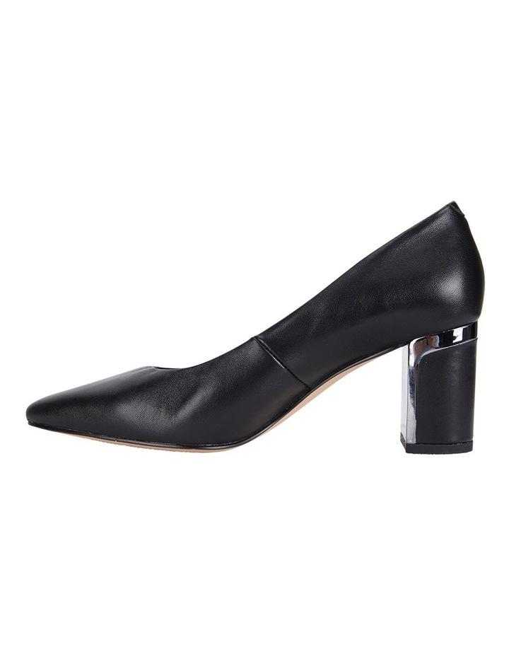 Jane Debster Bonnie Black Glove Heeled Shoe image 3