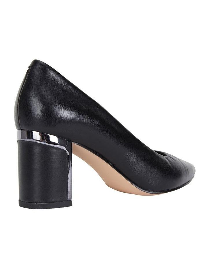 Jane Debster Bonnie Black Glove Heeled Shoe image 4