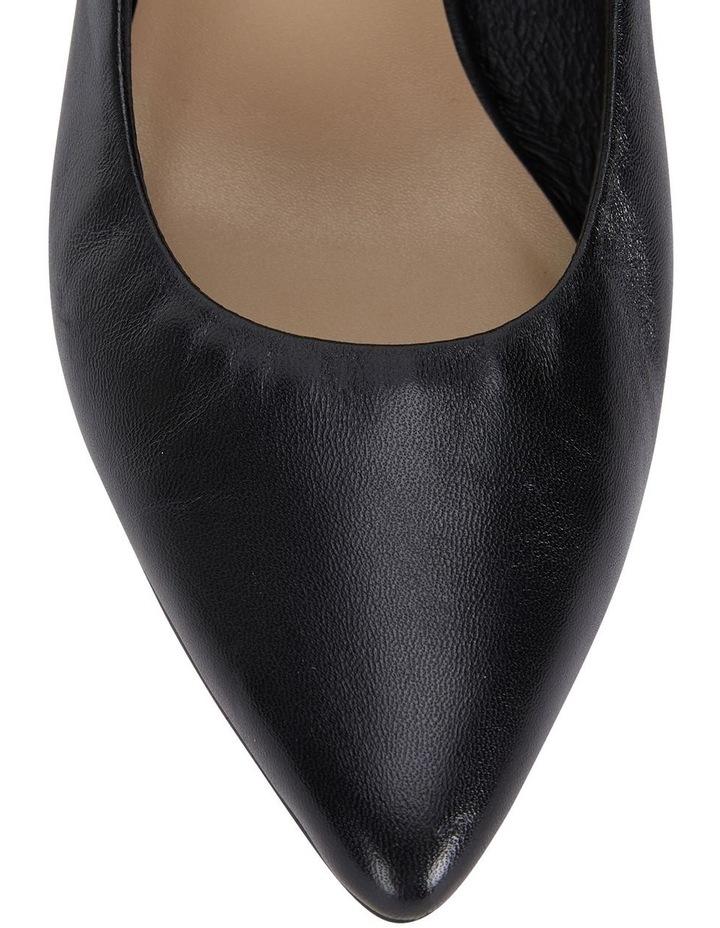Jane Debster Bonnie Black Glove Heeled Shoe image 7