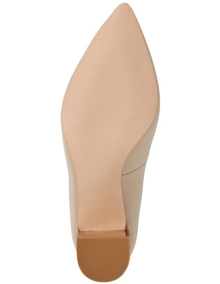 Jane Debster Bonnie Nude Glove Heeled Shoe image 6