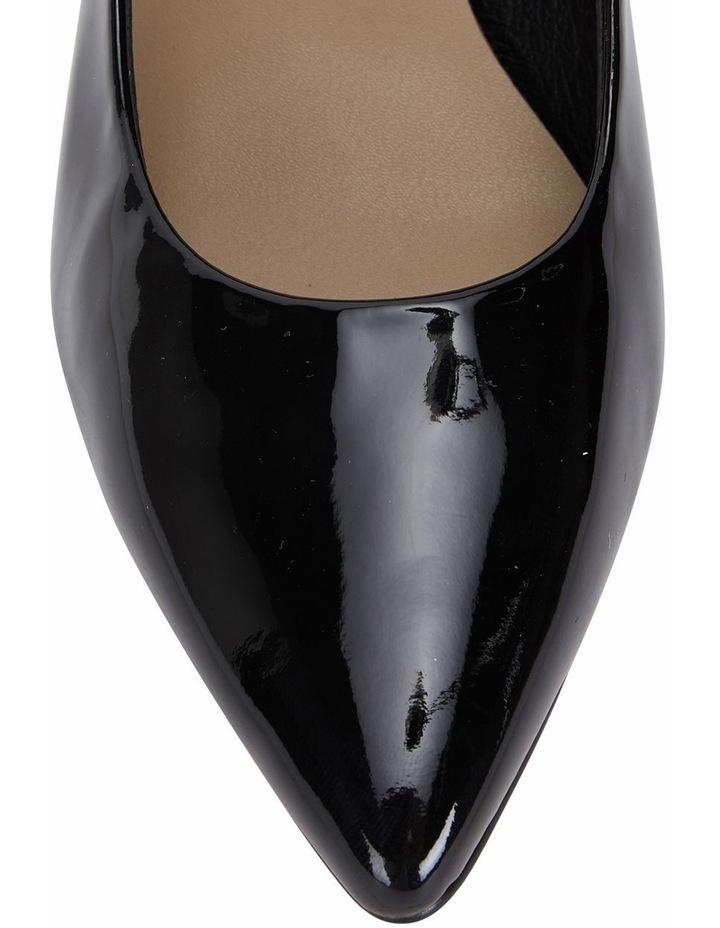 Jane Debster Bonnie Black Patent Heeled Shoe image 7