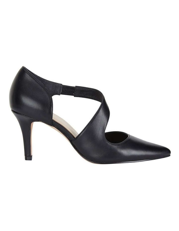 Jane Debster Chelsea Black Glove Heeled Shoe image 1
