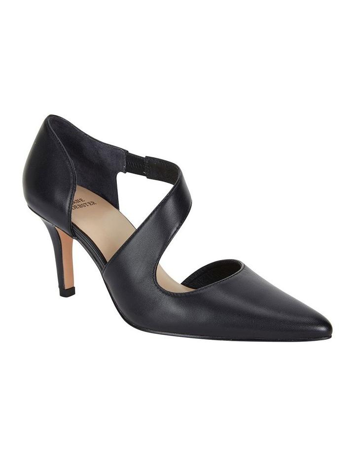 Jane Debster Chelsea Black Glove Heeled Shoe image 2