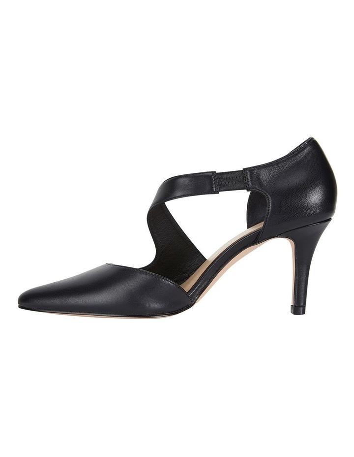 Jane Debster Chelsea Black Glove Heeled Shoe image 3