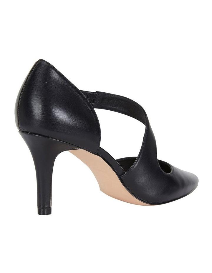 Jane Debster Chelsea Black Glove Heeled Shoe image 4