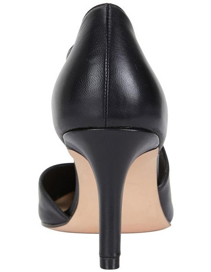 Jane Debster Chelsea Black Glove Heeled Shoe image 5