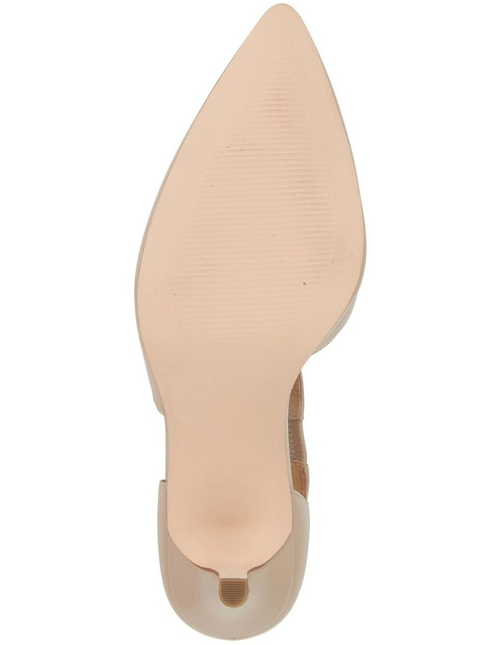 Jane Debster Chelsea Nude Glove Heeled Shoe image 6