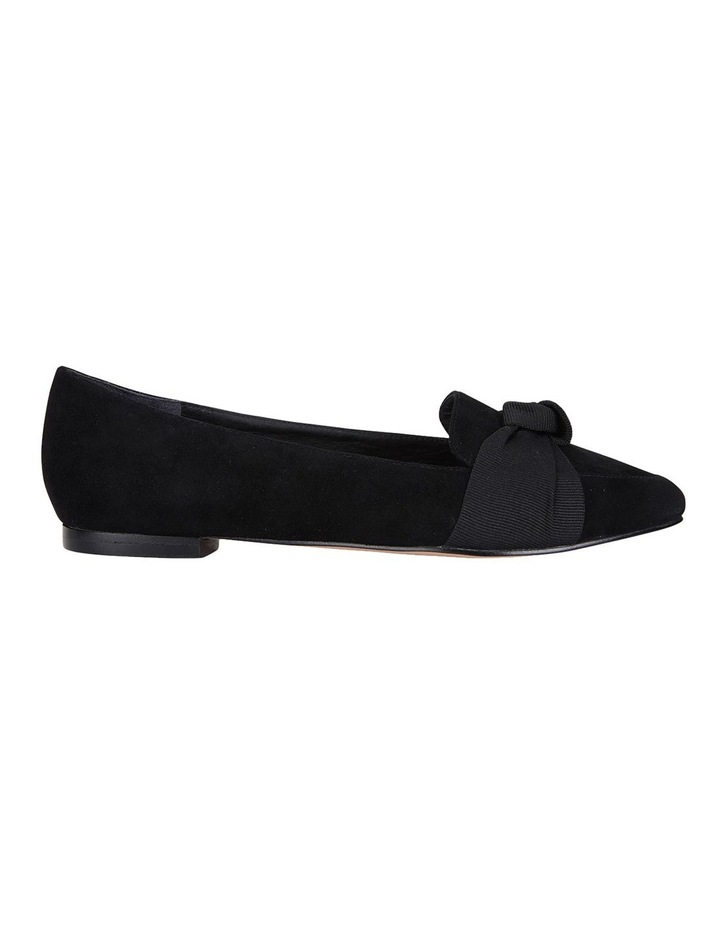 Jane Debster Tango Black Suede Flat Shoe image 1