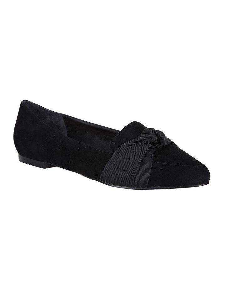 Jane Debster Tango Black Suede Flat Shoe image 2