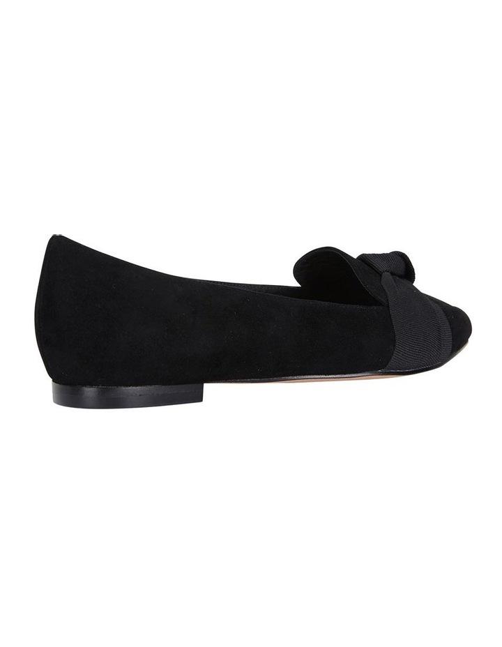 Jane Debster Tango Black Suede Flat Shoe image 4