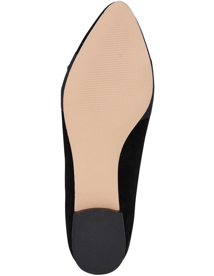 Jane Debster Tango Black Suede Flat Shoe image 6