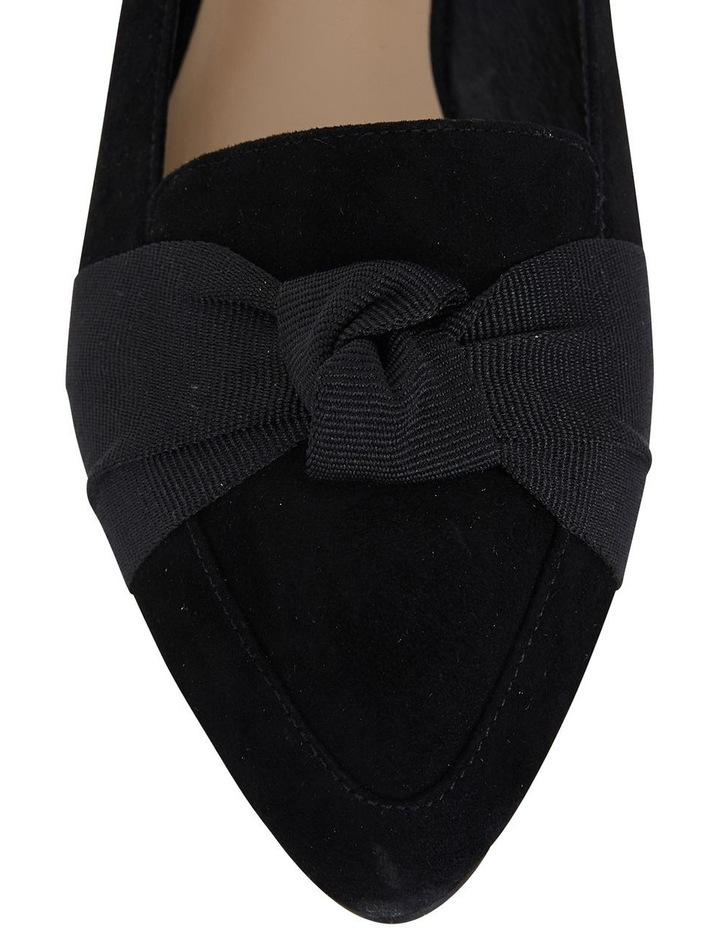 Jane Debster Tango Black Suede Flat Shoe image 7