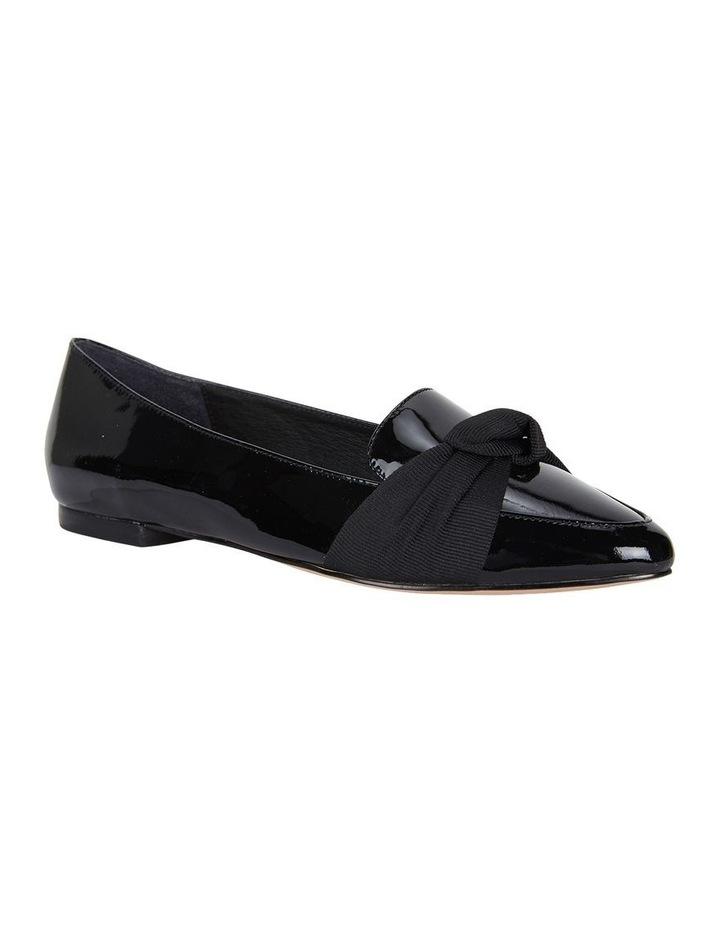 Jane Debster Tango Black Patent Flat Shoe image 2