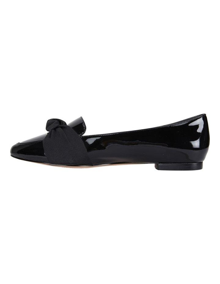 Jane Debster Tango Black Patent Flat Shoe image 3